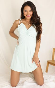 Bring It Out Dress In Mint