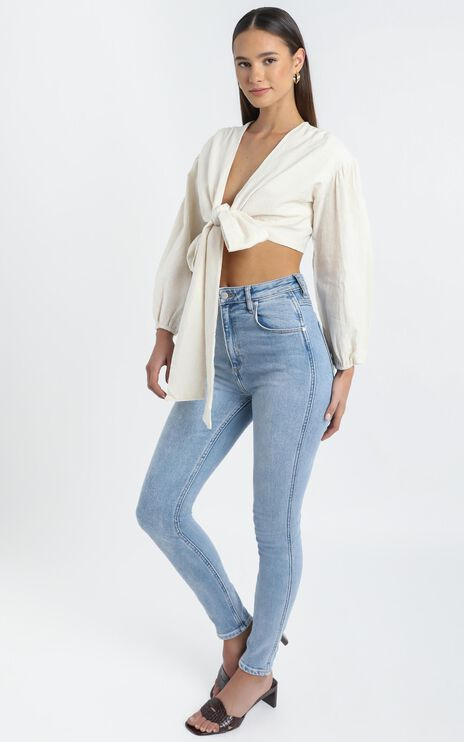 Camilla Top in Cream