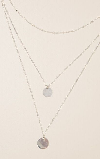 Stay The Same necklace in silver, , hi-res image number null