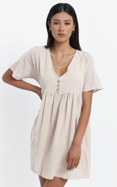 Coraline Dress in Beige
