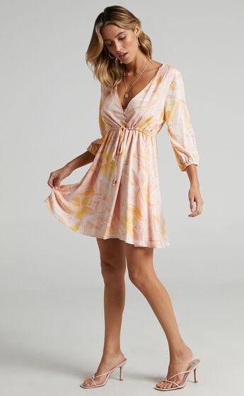 Lilliana Dress in Summer Floral