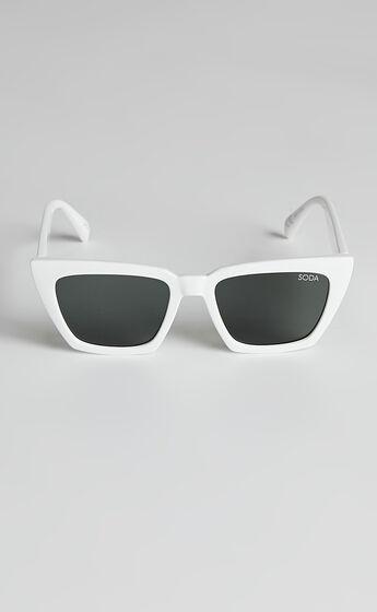 Soda Shades - Hailey Sunglasses in White