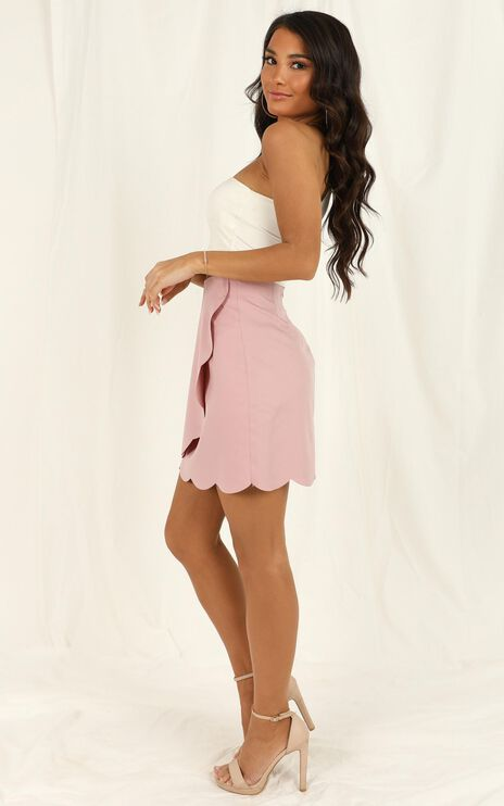 We Want It All Skirt In  Blush
