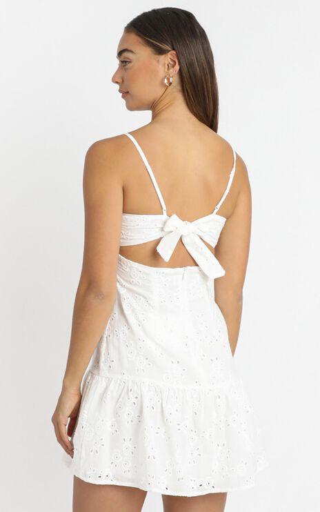 Winnie Dress in White