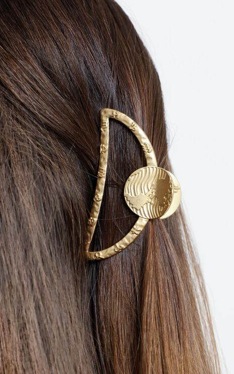 The Day Time Hair Clip in Gold
