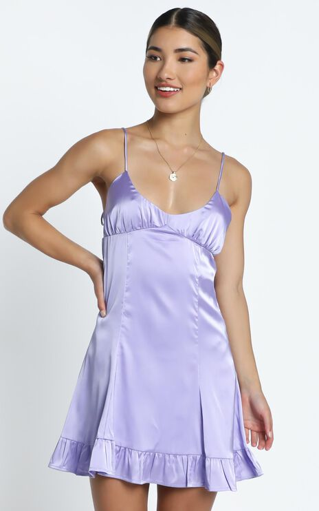 Lou Dress in Lilac