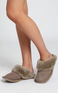 EMU Australia - Platinum Eden Slippers in Mushroom