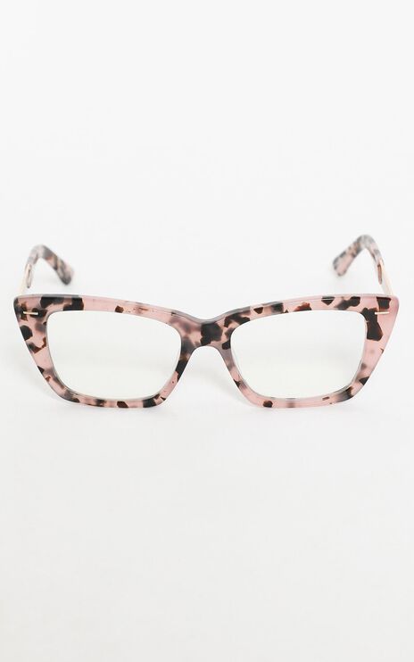 Quay - Prove It Blue Light Glasses in Milky Tort