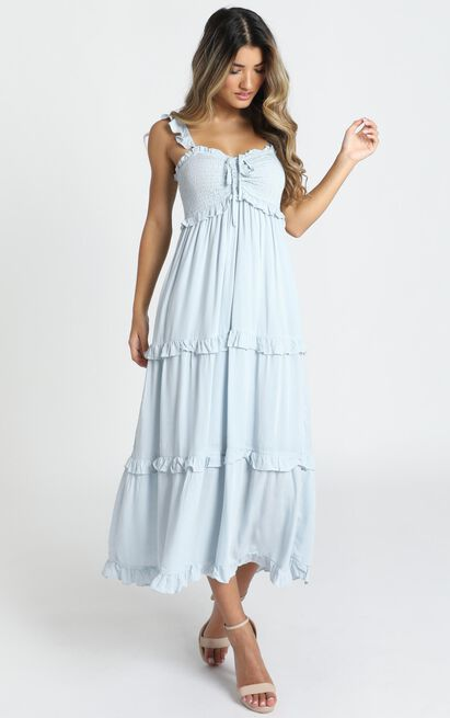 Good For The Soul Dress in blue - 14 (XL), Blue, hi-res image number null