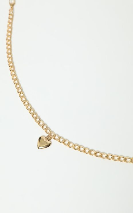 Micaela Necklace in Gold