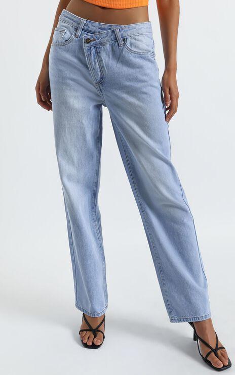 Lioness - Lowrider Denim Jean in Blue Denim