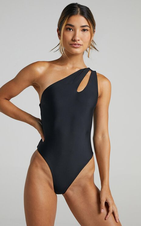 La Palma One Piece in Black
