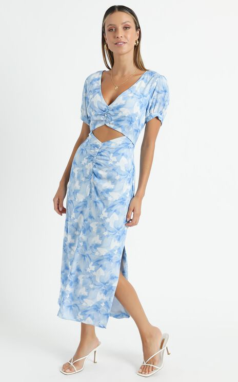 Fraser Dress in Cloudy Floral