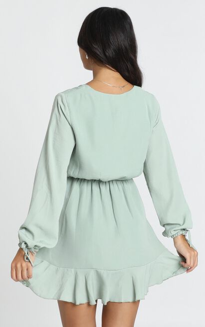 Can We Stop Dress in sage - 20 (XXXXL), Sage, hi-res image number null