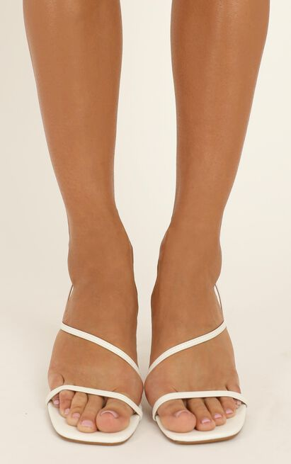 Billini - Montague Heels in white - 10, White, hi-res image number null