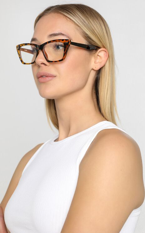 Quay - Prove It Blue Light Glasses in Tort