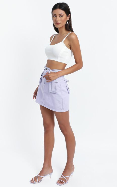 Jenkins Knit Top in White