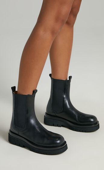 Alias Mae - Cam Boots in Black Burnished