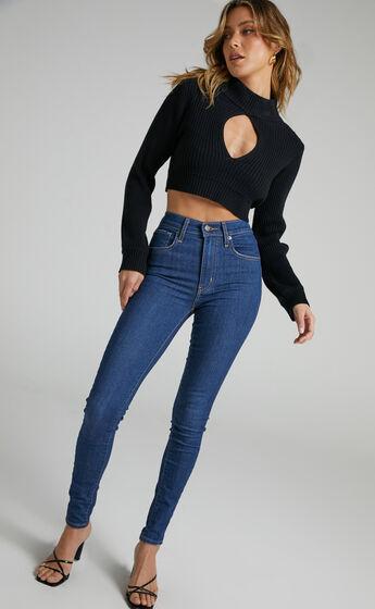 Levis - Mile High Super Skinny Jean in Toronto Tears