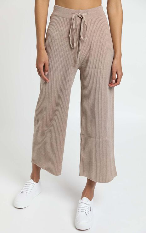 Orlando Knit Pants in Mocha