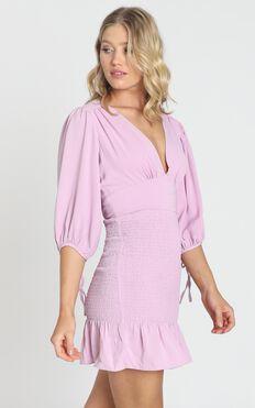 Albany Dress in Lavender