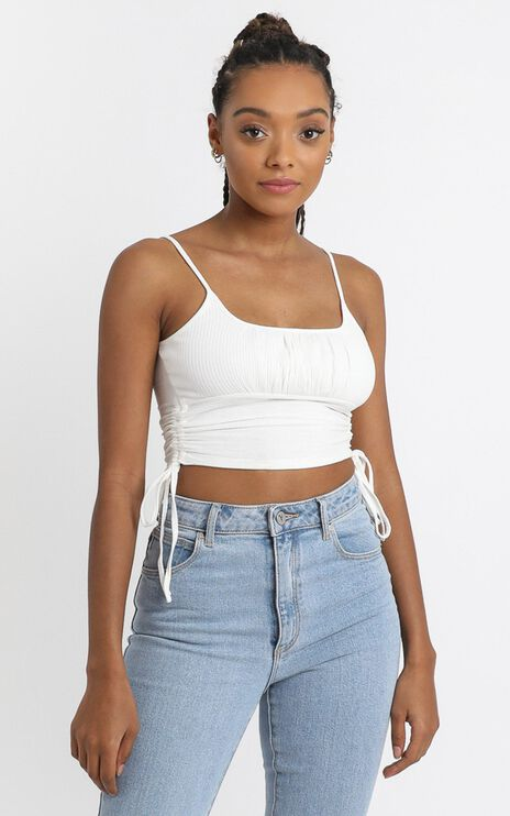 Jasmeen Top in White
