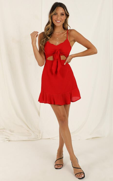 Photographic Memory Dress in Red