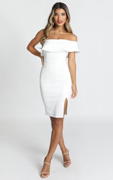 Seven Seas Dress in White