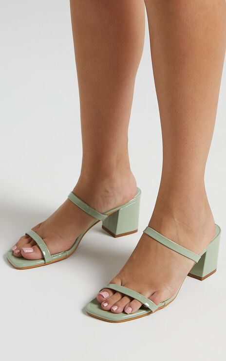 Billini - Dane Heels in Pistachio Patent