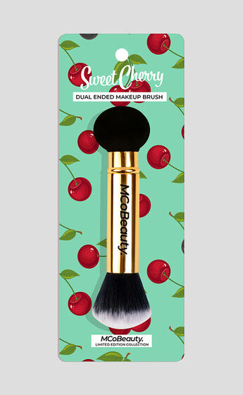 MCoBeauty - Dual Ended Make Up Brush in Pink