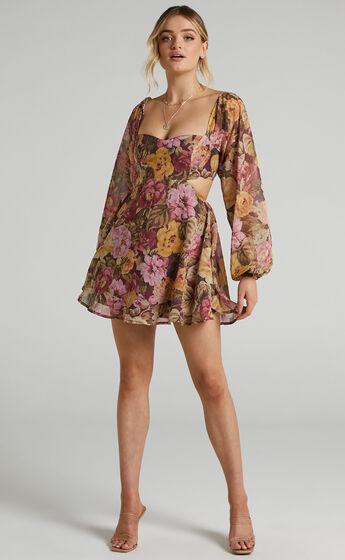 Ebonee Dress in Classic Floral