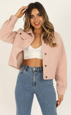 Only Intention Jacket In Blush