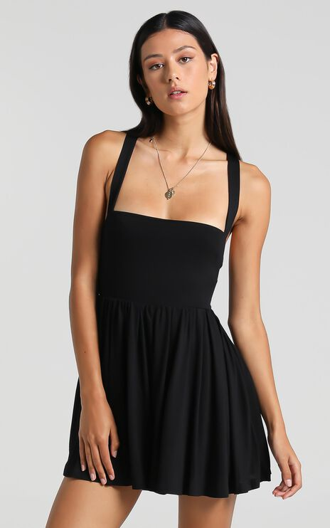 Harrow Playsuit in Black