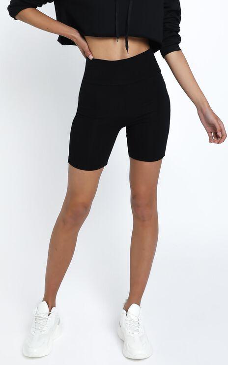 Nerida Bike Shorts in Black