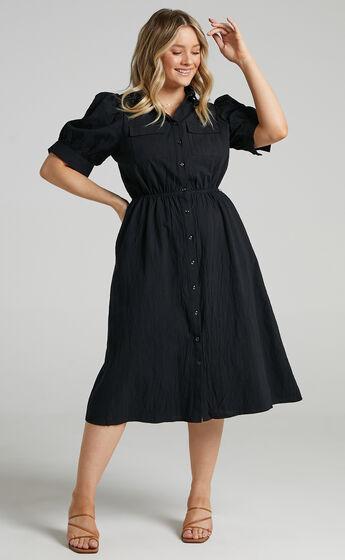 Tiras Dress in Black