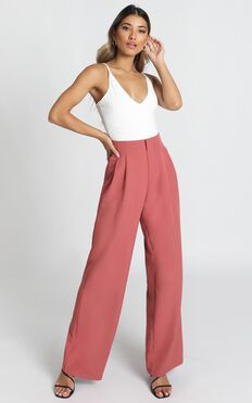 Competition Time Pants In Dusty Rose