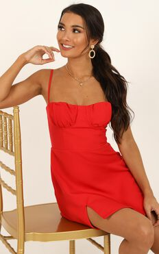 Ever Changing Dress In Red