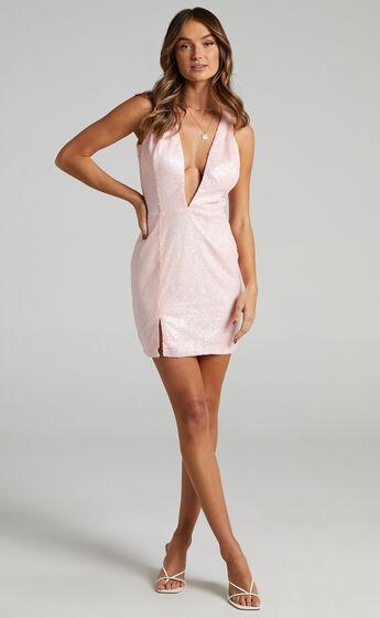 Martini Dress in Pink