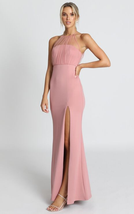 Still Love You Dress In Dusty Rose