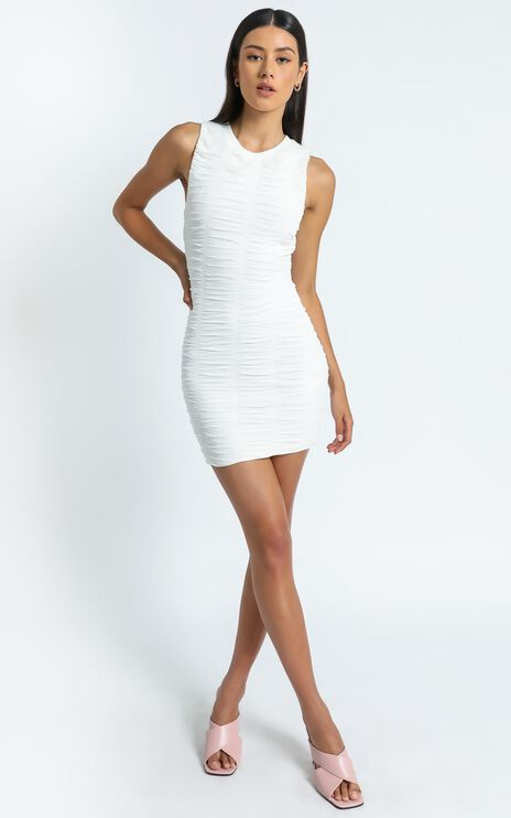 Paradox Dress in White