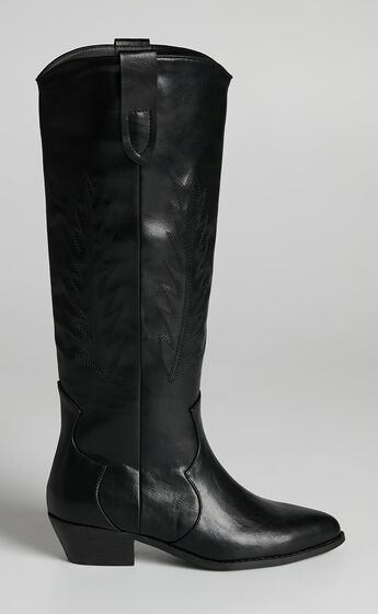 Therapy - Bonnie Boots in Black