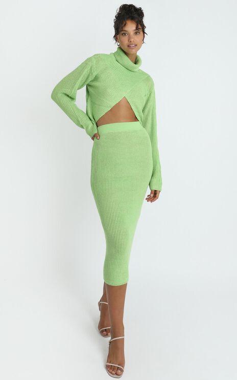 Edwynna Jumper in Green
