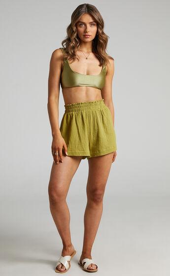 Donita Shorts in Olive