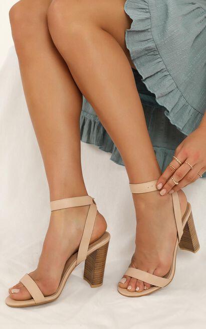 Billini - Elena heels in nude - 10, Beige, hi-res image number null
