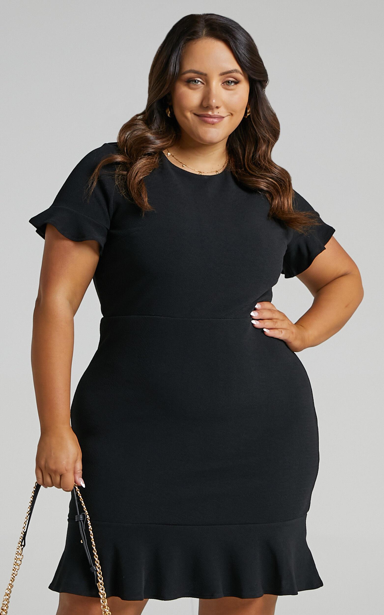 Authority Dress in Black - 04, BLK1, super-hi-res image number null