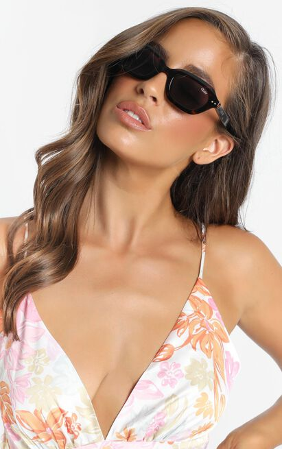 Quay - Anything Goes Sunglasses In Tort, , hi-res image number null