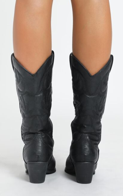 Therapy - Clayton Boots in black - 10, Black, hi-res image number null