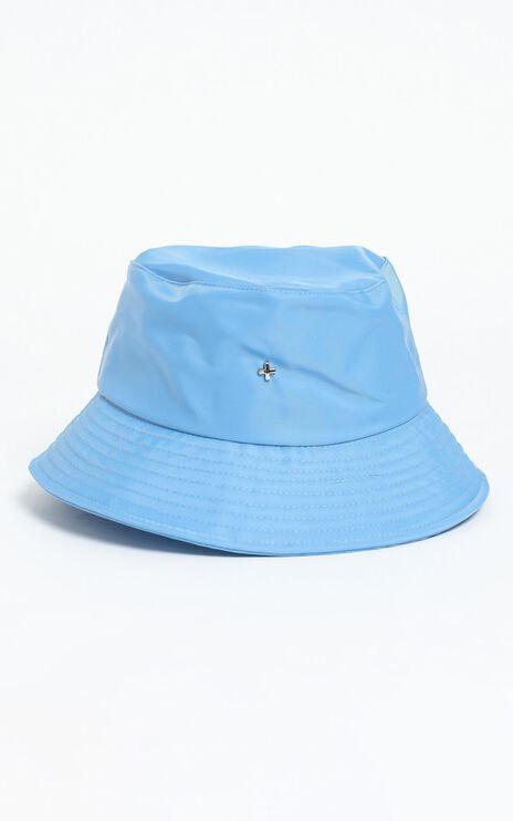 Peta and Jain - Bae Bucket Hat in Blue Nylon