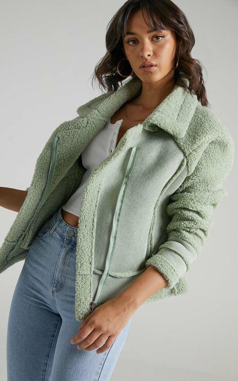 Abriana Coat in Sage