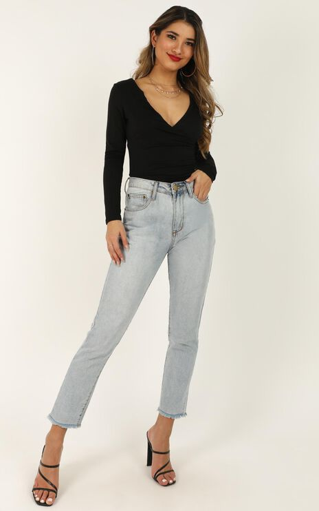 Styles And Breeze Top In Black